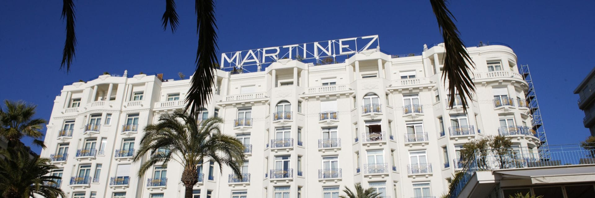 Luxury 5* Hôtel Martinez Cannes by Hyatt on la Croisette