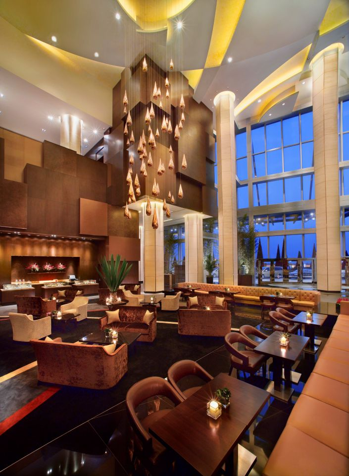 Grand Hyatt Macao Lobby Lounge