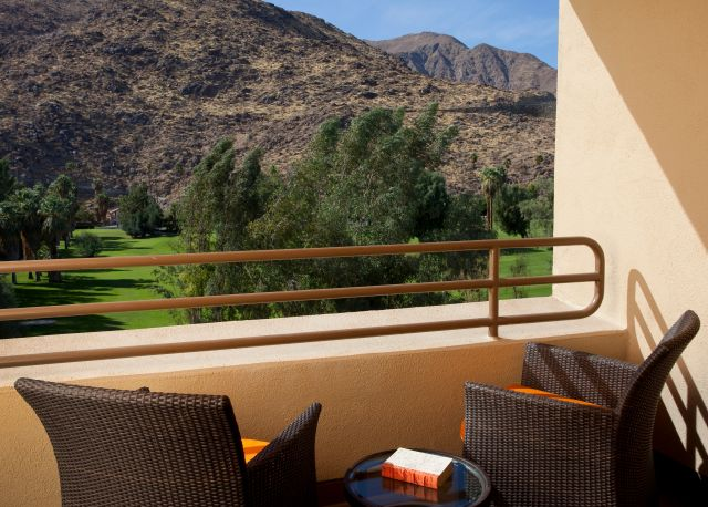 Hyatt Palm Springs Balcony View