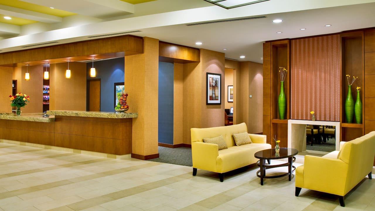 Hyatt House Fort Lauderdale lobby