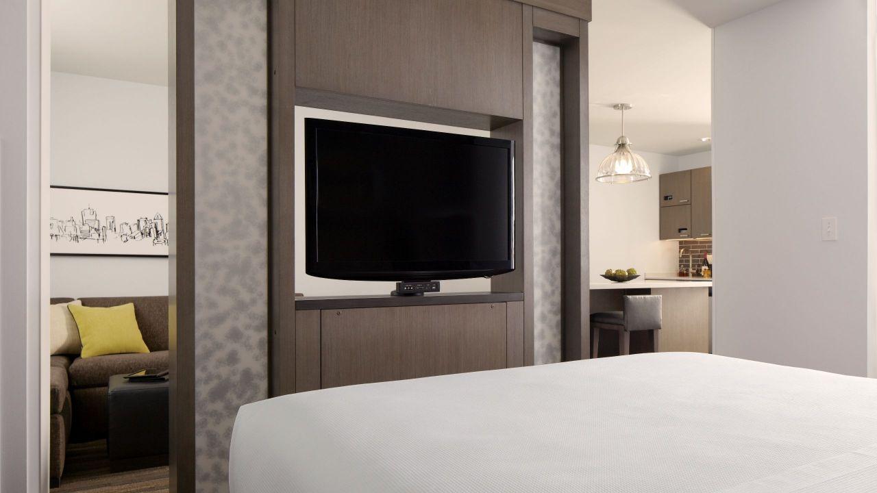 king bedroom suite with ipad