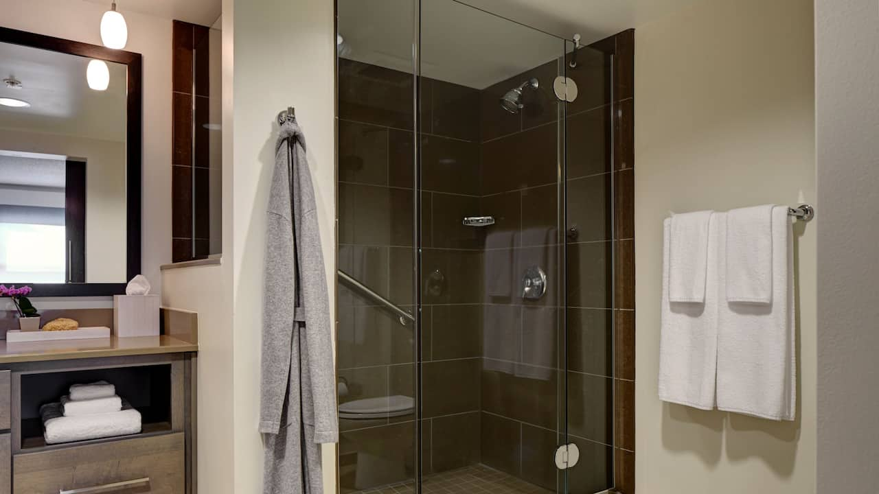 Hyatt House San Diego / Sorrento Mesa King Accessible Roll-In Shower
