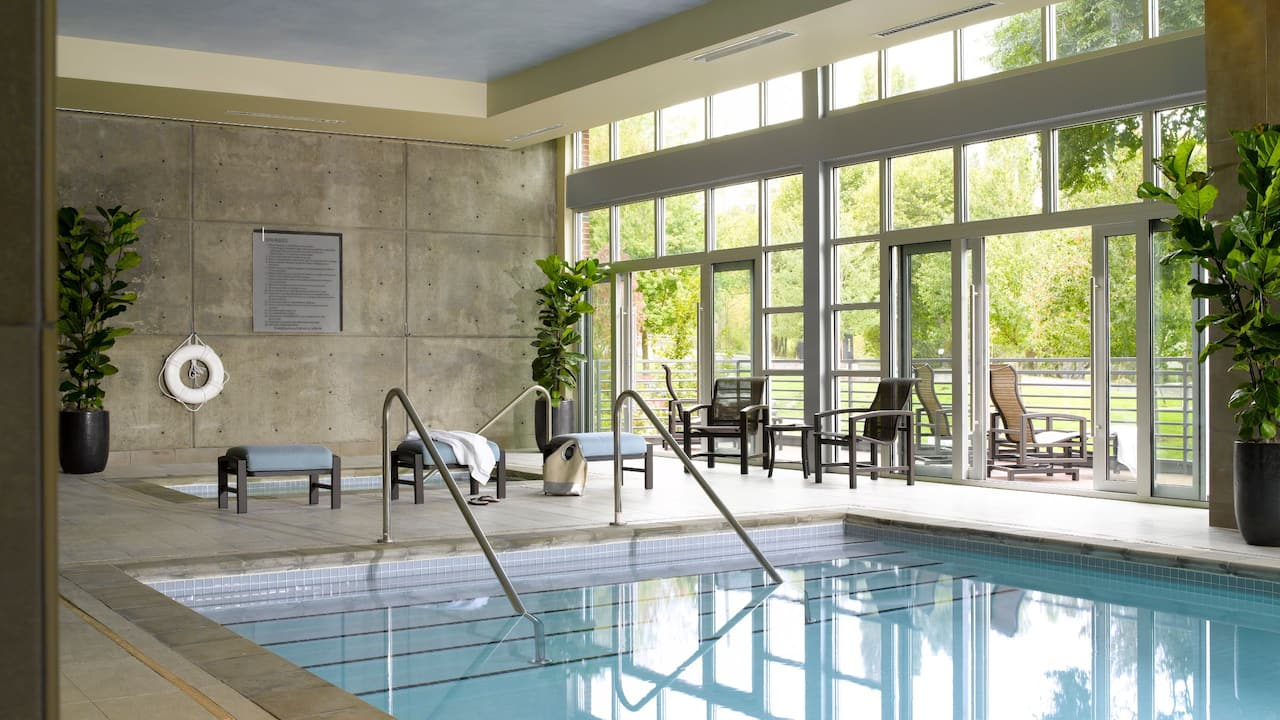 Indoor Pool at Redmond WA Hotel – Hyatt House Seattle/Redmond