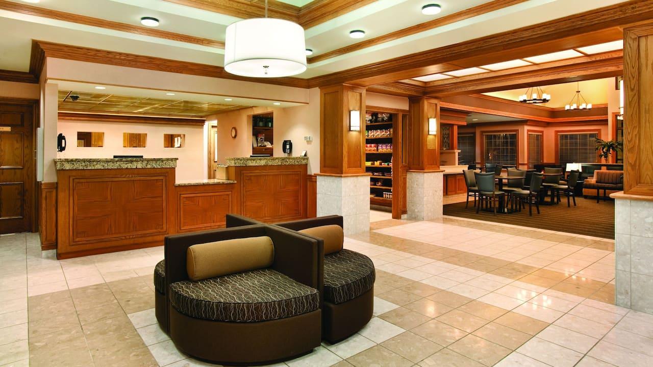 Hyatt House Mt. Laurel lobby