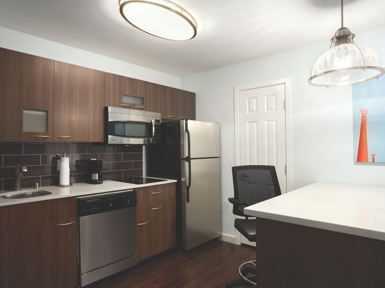 Hyatt House Studio Kitchen