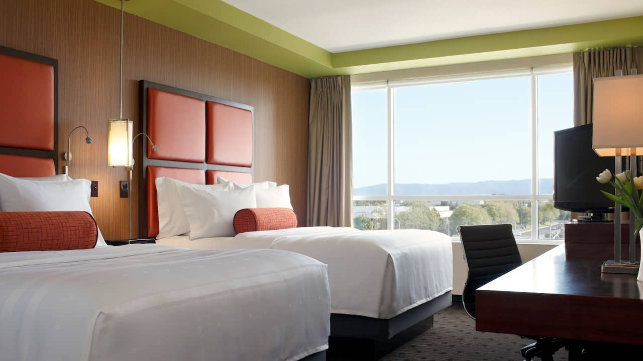 Hyatt House San Jose / Silicon Valley guestroom double