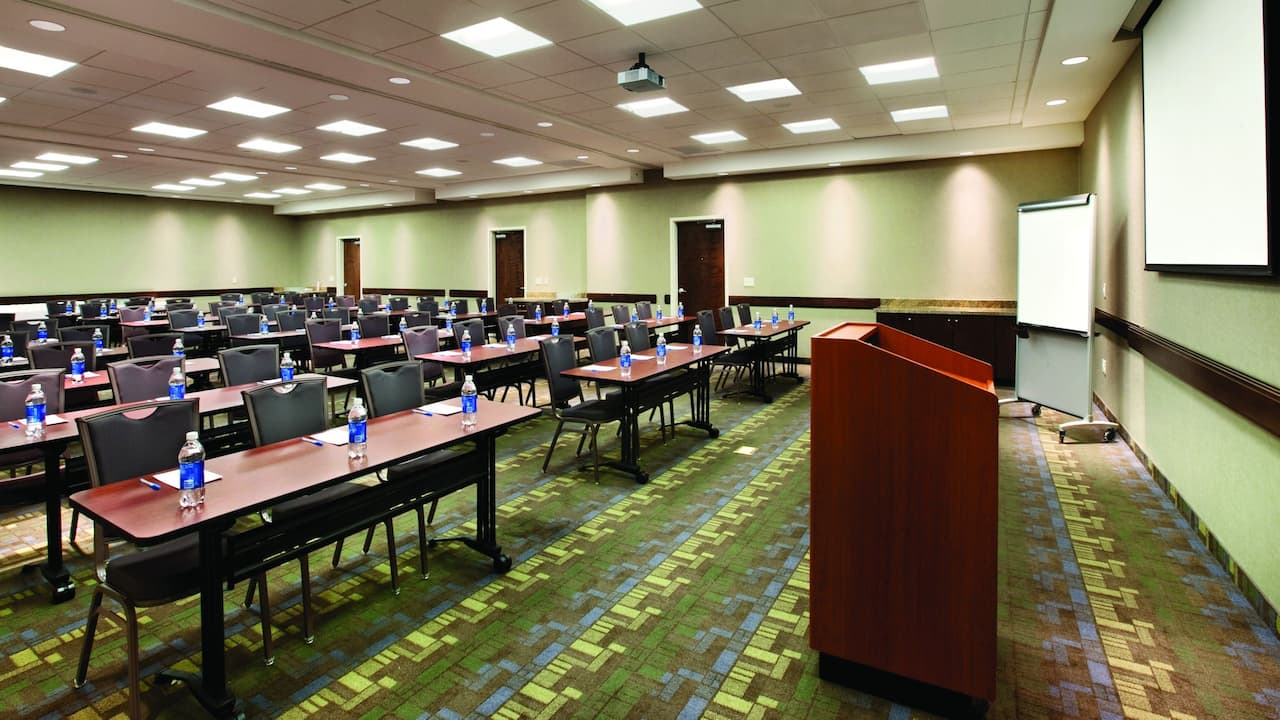 Meeting Space in Sandy, UT Hotel – Classroom Setup – Hyatt House Salt Lake City/Sandy