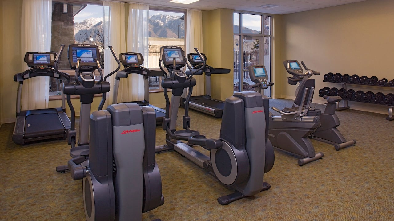 24/7 Fitness Center in Sandy, UT Hotel – Hyatt House Salt Lake City/Sandy