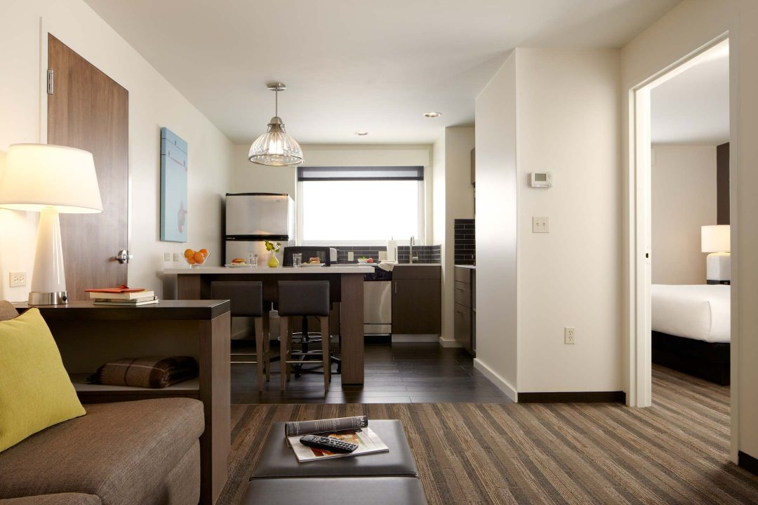 two bed kitchen dining