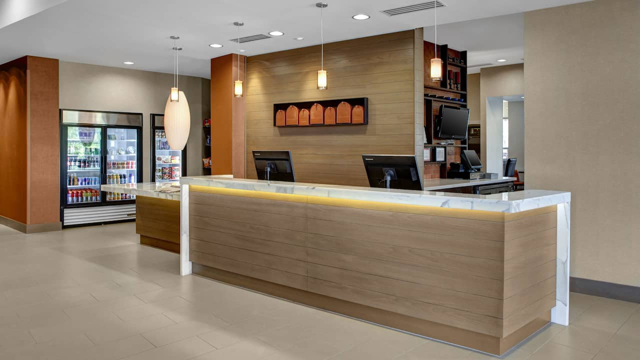Front Desk at Hyatt House Atlanta/Cobb Galleria