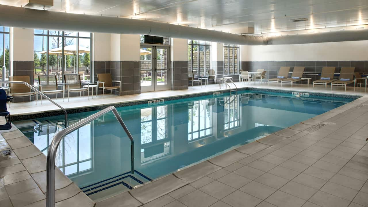 Indoor Pool Hyatt House Atlanta/Cobb Galleria