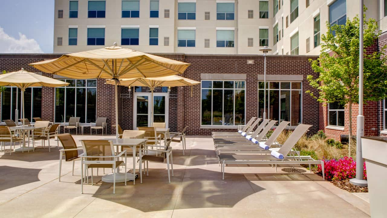 Back Patio at Hyatt House Atlanta/Cobb Galleria