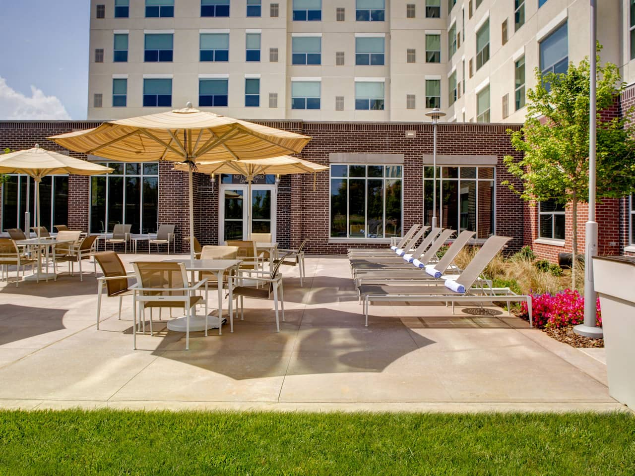 Patio Hyatt House Atlanta/Cobb Galleria