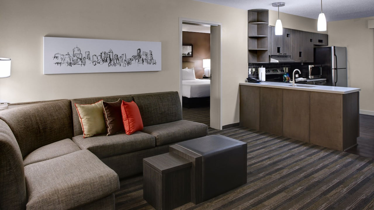Room with Living Room Hyatt House Atlanta/Cobb Galleria
