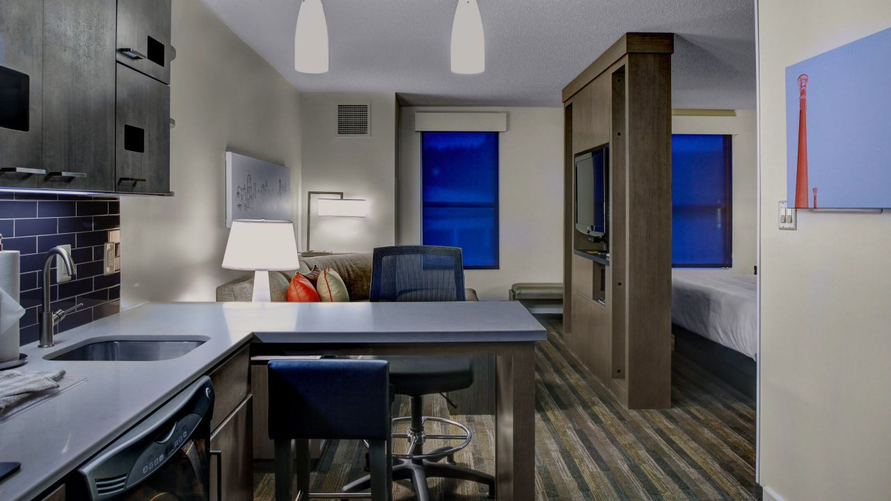 Studio King Suite Hyatt House Atlanta Cobb Galleria