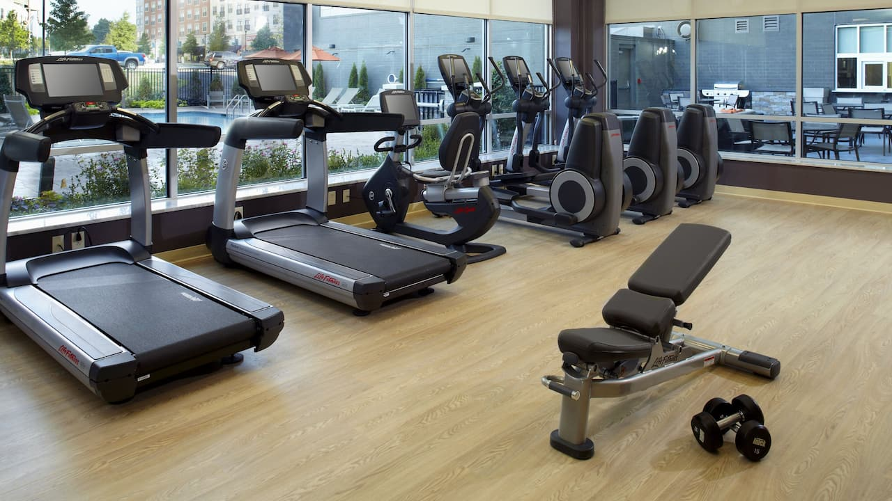 HYATT HOUSE RALEIGH NORTH HILLS | Fitness Center