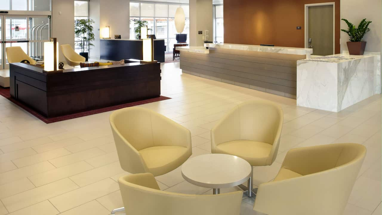 HYATT HOUSE RALEIGH NORTH HILLS| Front Desk