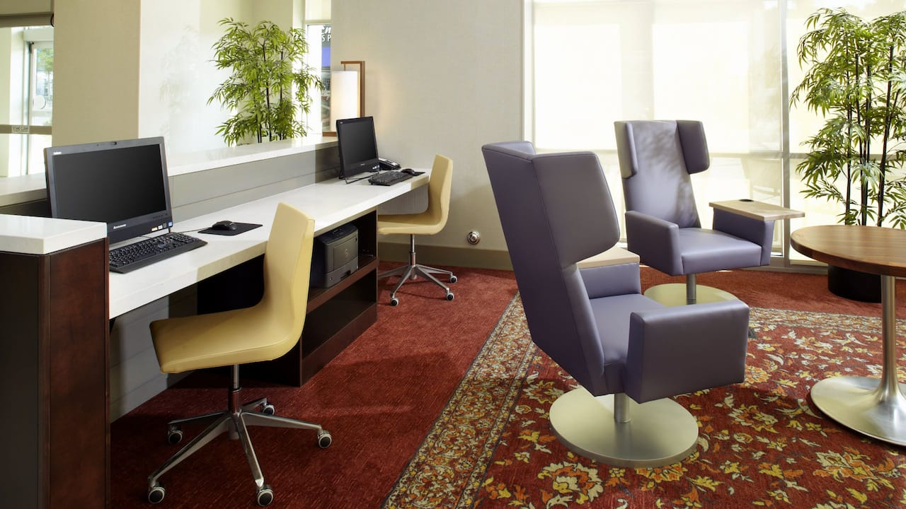 HYATT HOUSE RALEIGH NORTH HILLS | Home Office