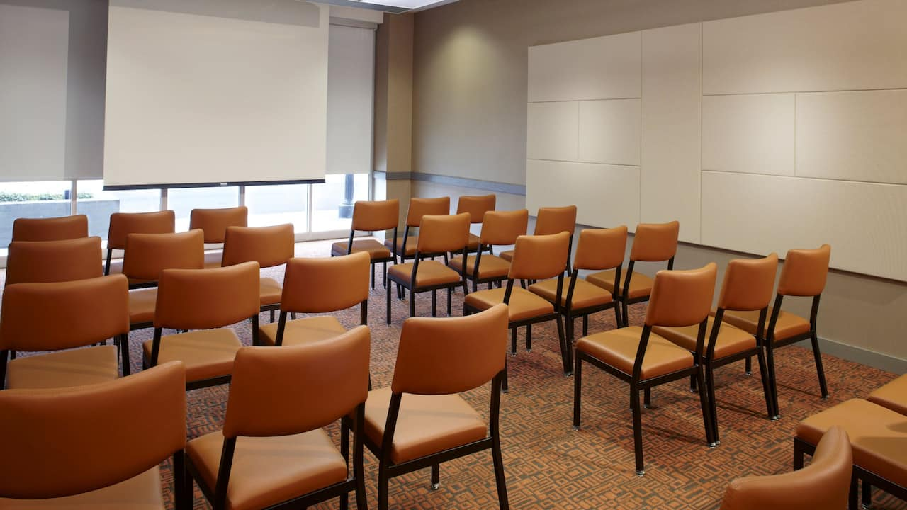 HYATT HOUSE RALEIGH NORTH HILLS | Meeting Room Theater Setup