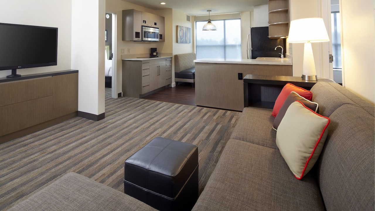 HYATT HOUSE RALEIGH/NORTH HILLS | Two-Bedroom King Suite