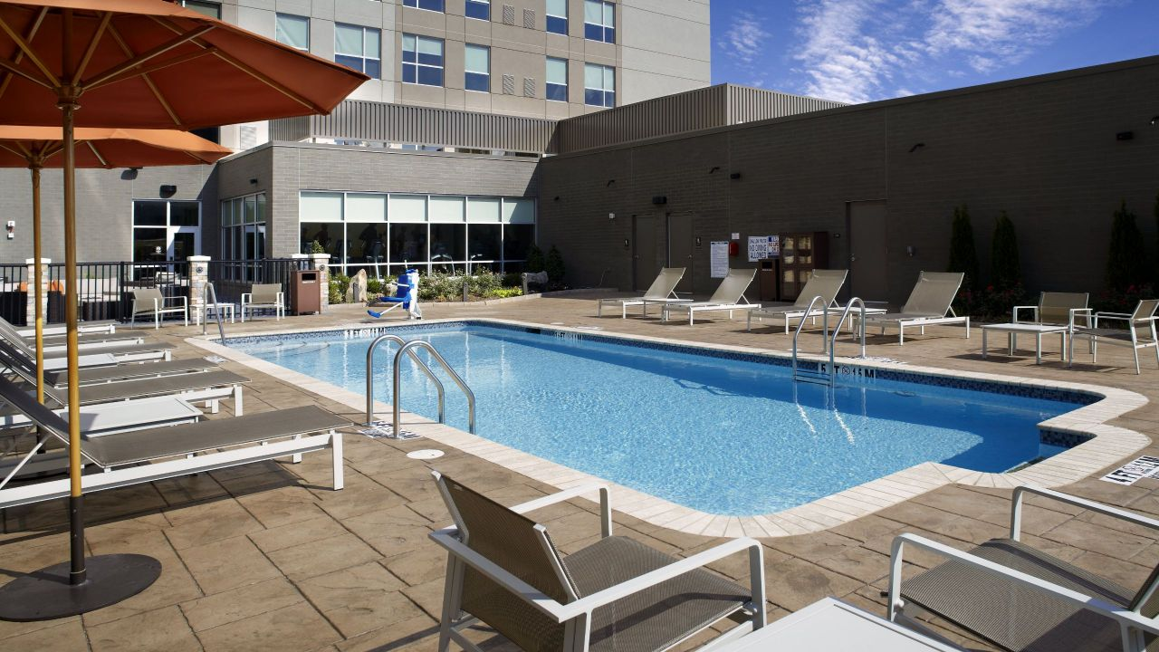 Hyatt House Borrows Pool