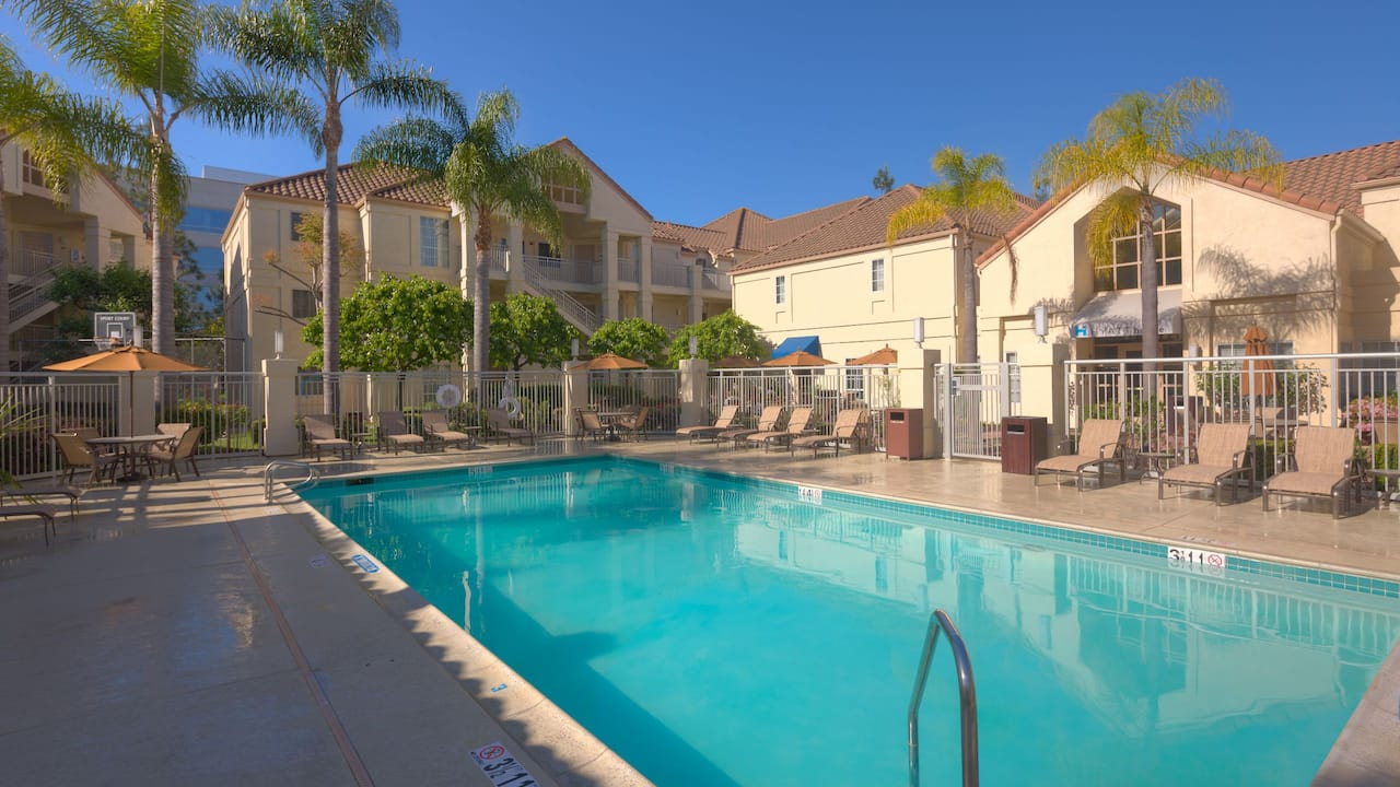 Hyatt House Los Angeles LAX Manhattan Beach pool