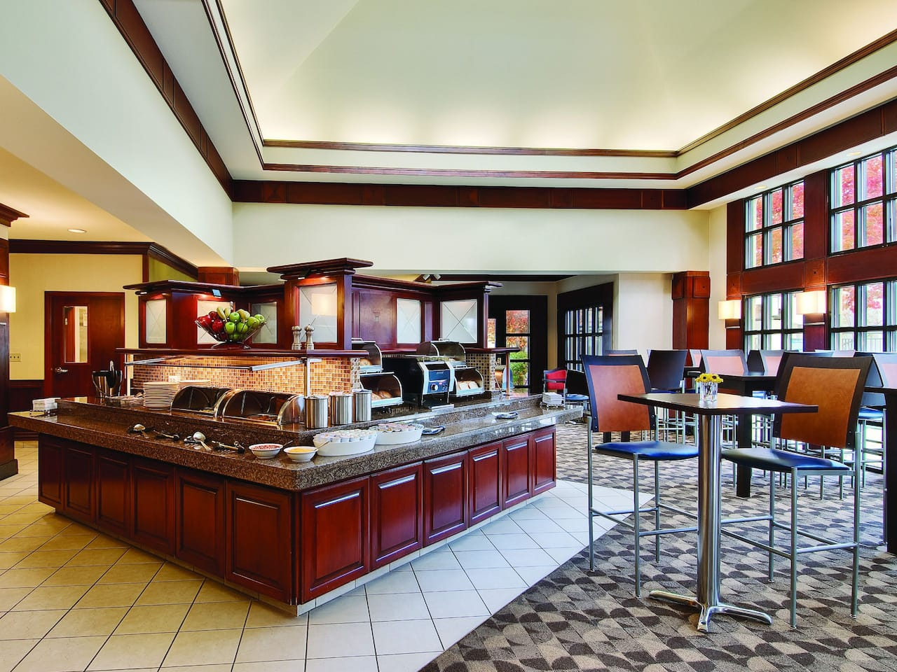 Hyatt House morristown lobby