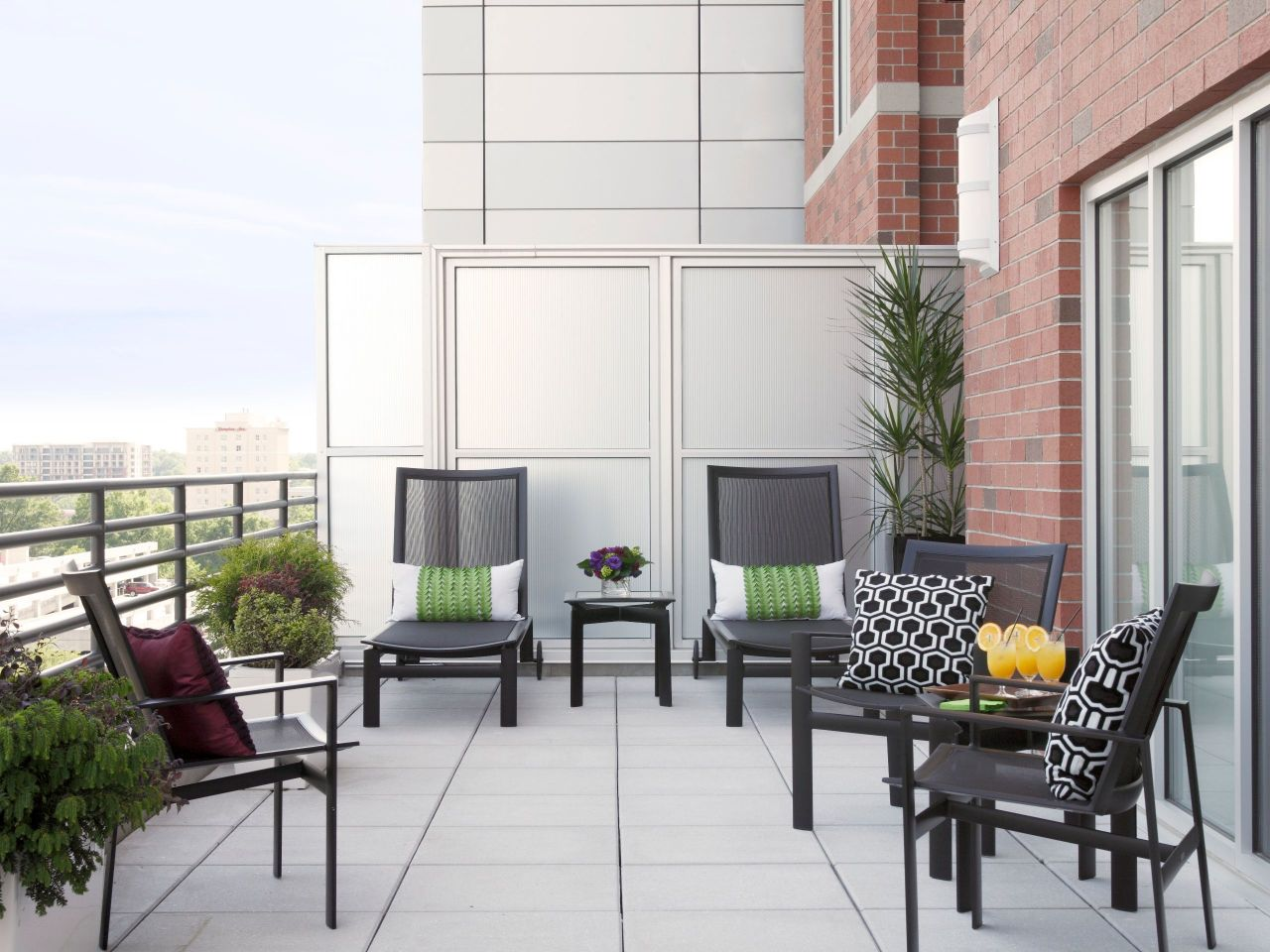 Hyatt House Diamond Suite Terrace