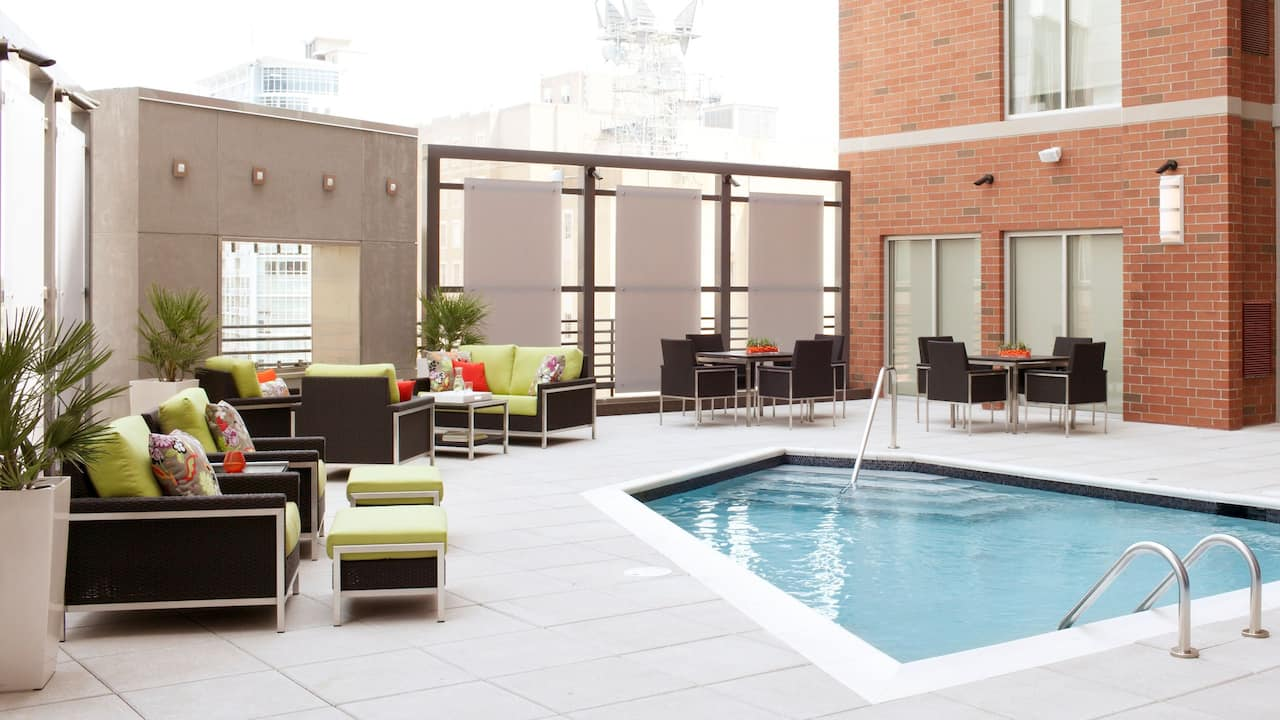 Hyatt House Rooftop Terrace Pool