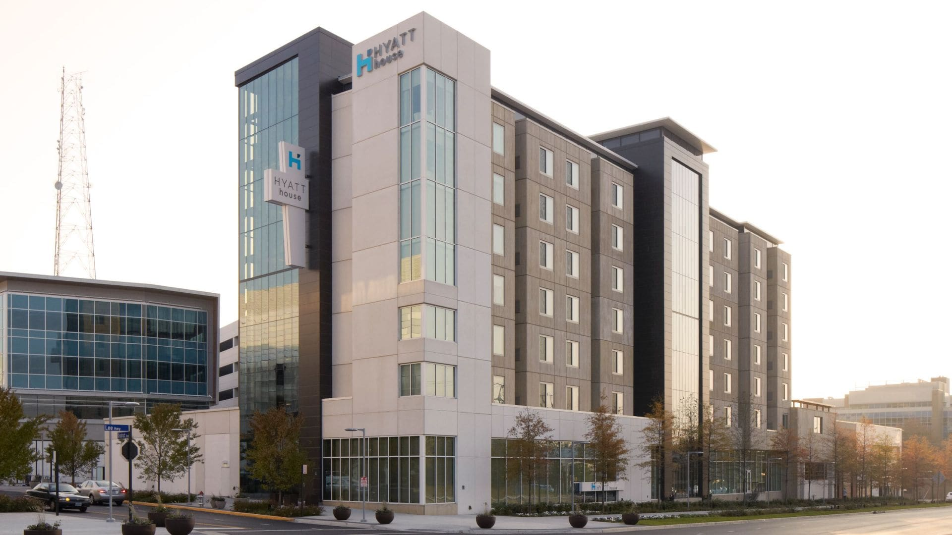 Hyatt House falls church Exterior