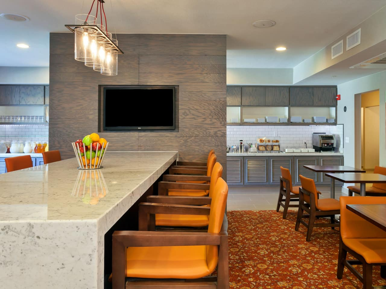 Hyatt House Breakfast Room