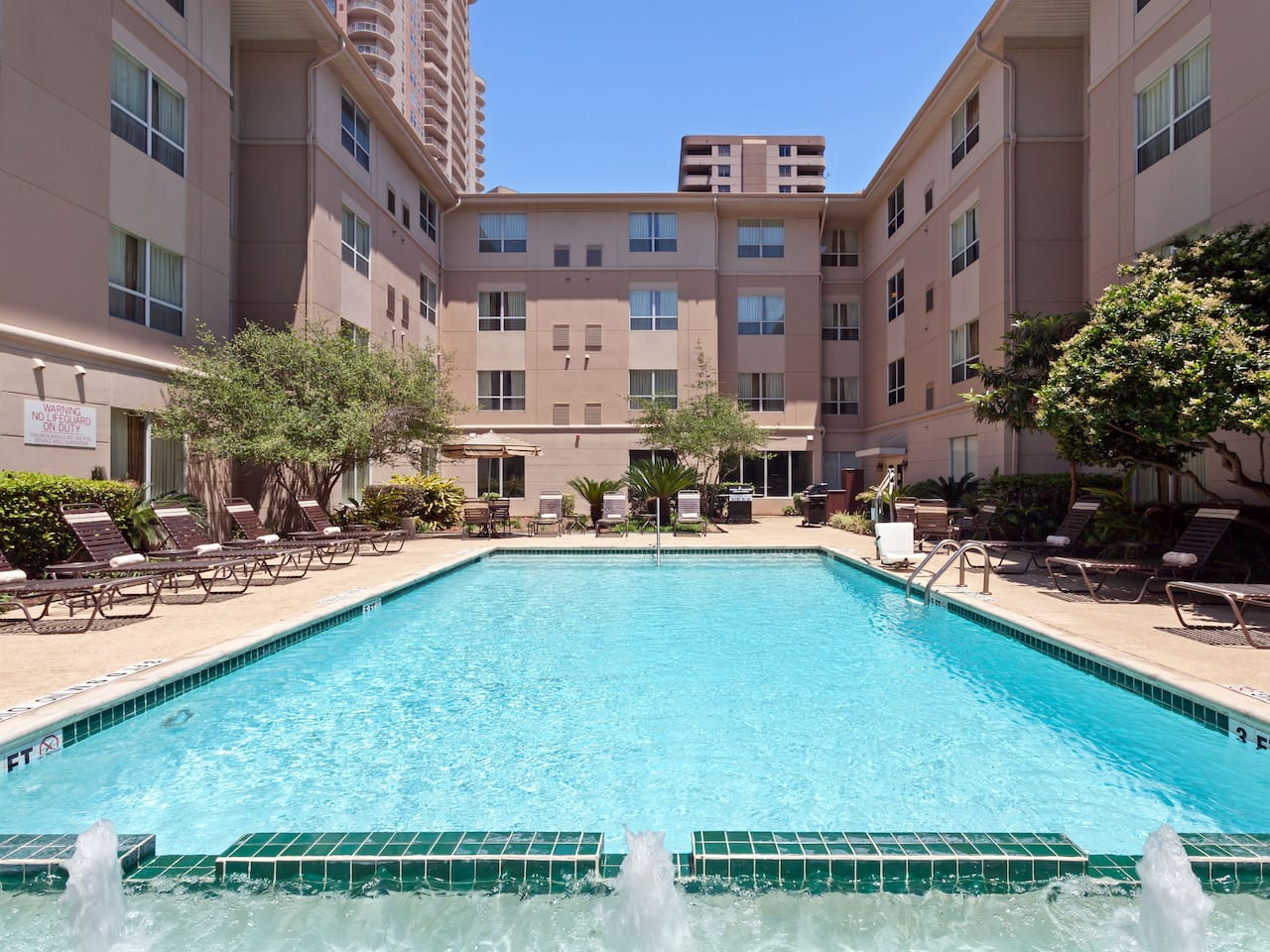 Hyatt House Outdoor Pool