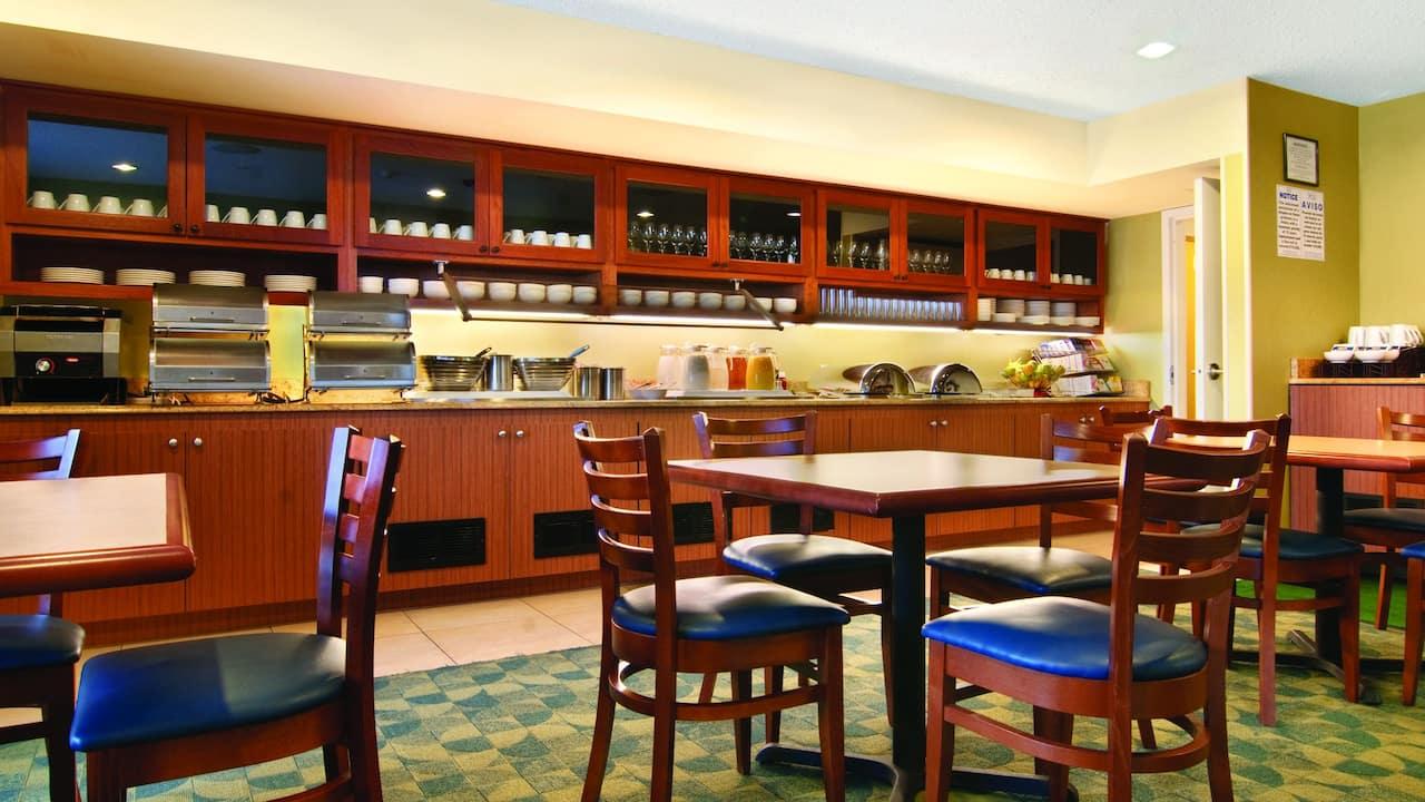 Hyatt house buffet room