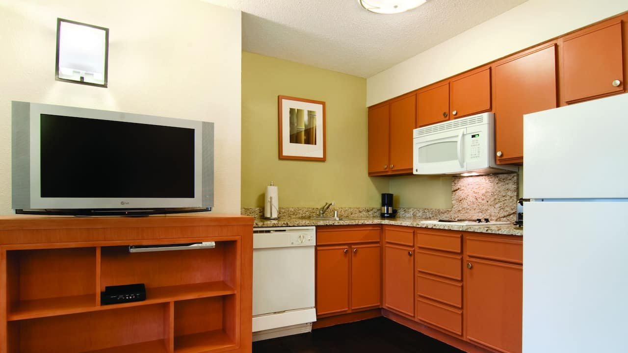 Hyatt house suite kitchen