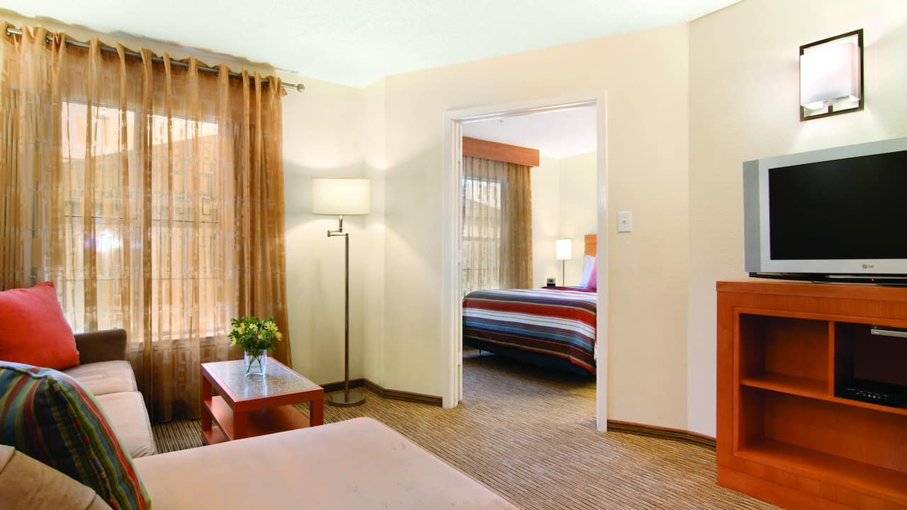 Hyatt House one bedroom suite
