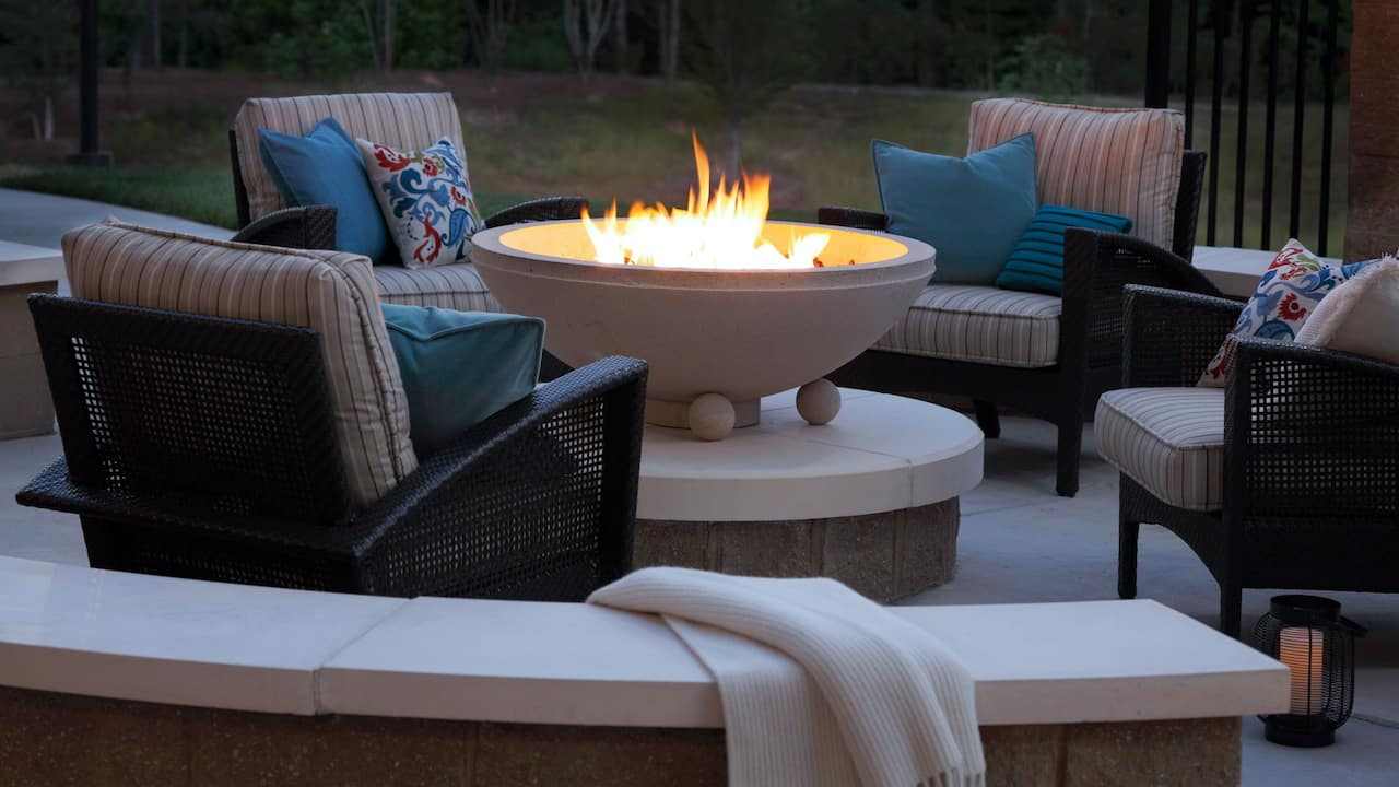 Hyatt House Raleigh Durham Airport Firepit