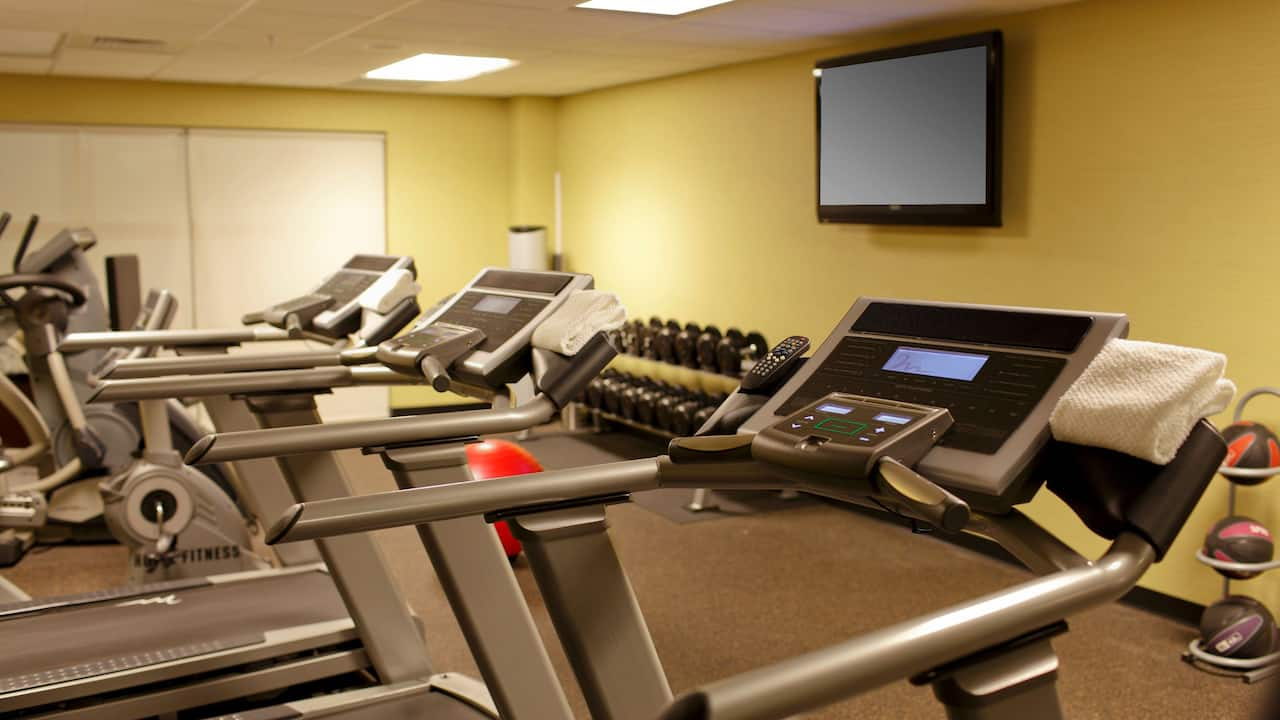 Hyatt House Raleigh Durham Airport Gym