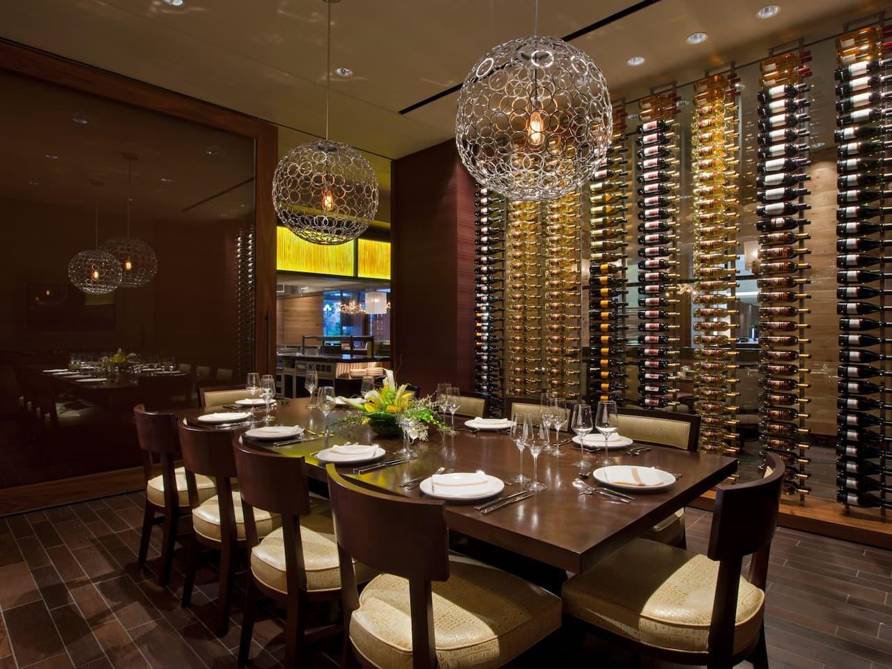 Q Private Dining Hyatt Regency San Antonio River Walk