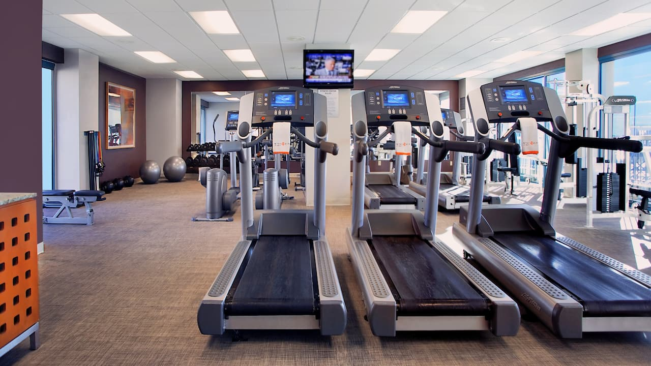 Fitness Center Hyatt Regency Jacksonville Riverfront