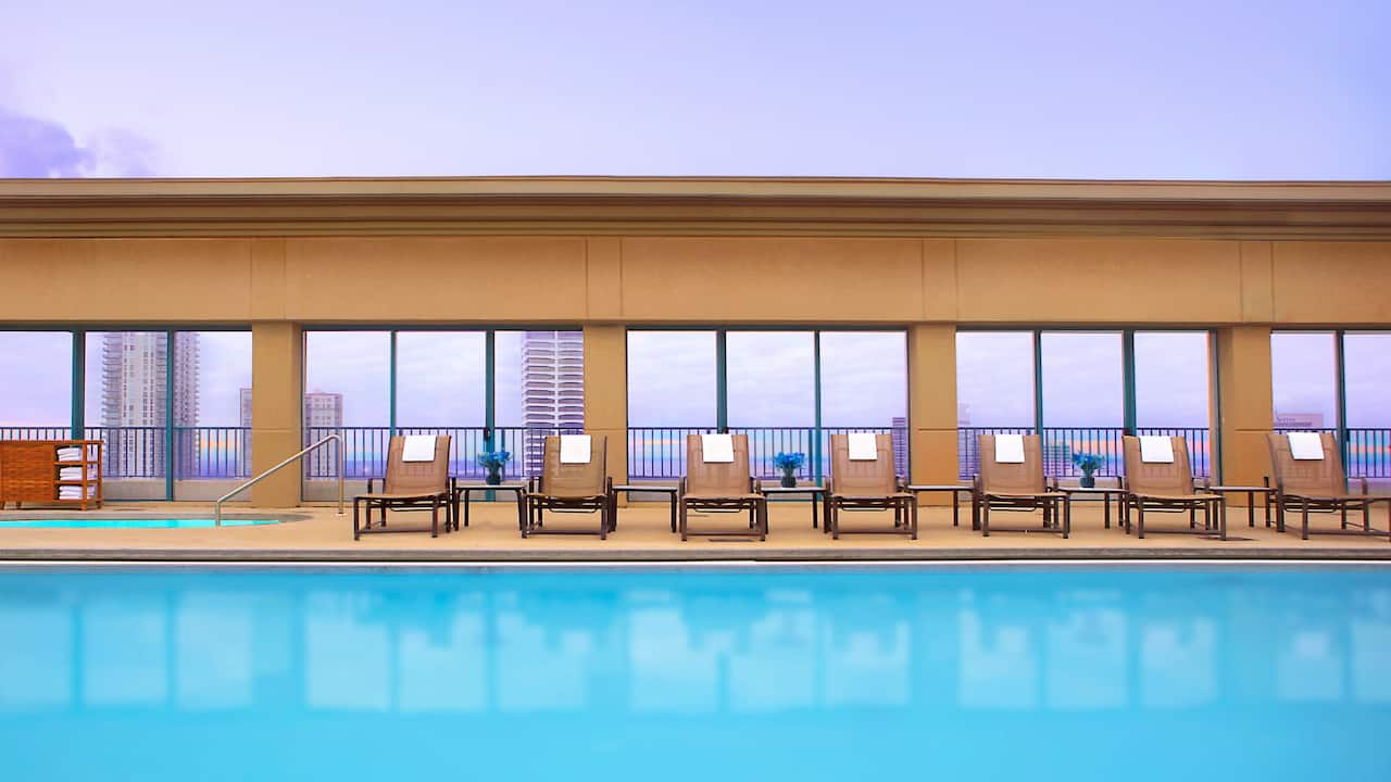 Outdoor Pool Hyatt Regency Jacksonville Riverfront