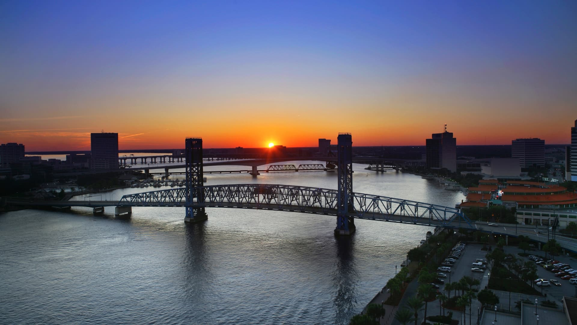 Sunset Hyatt Regency Jacksonville Riverfront