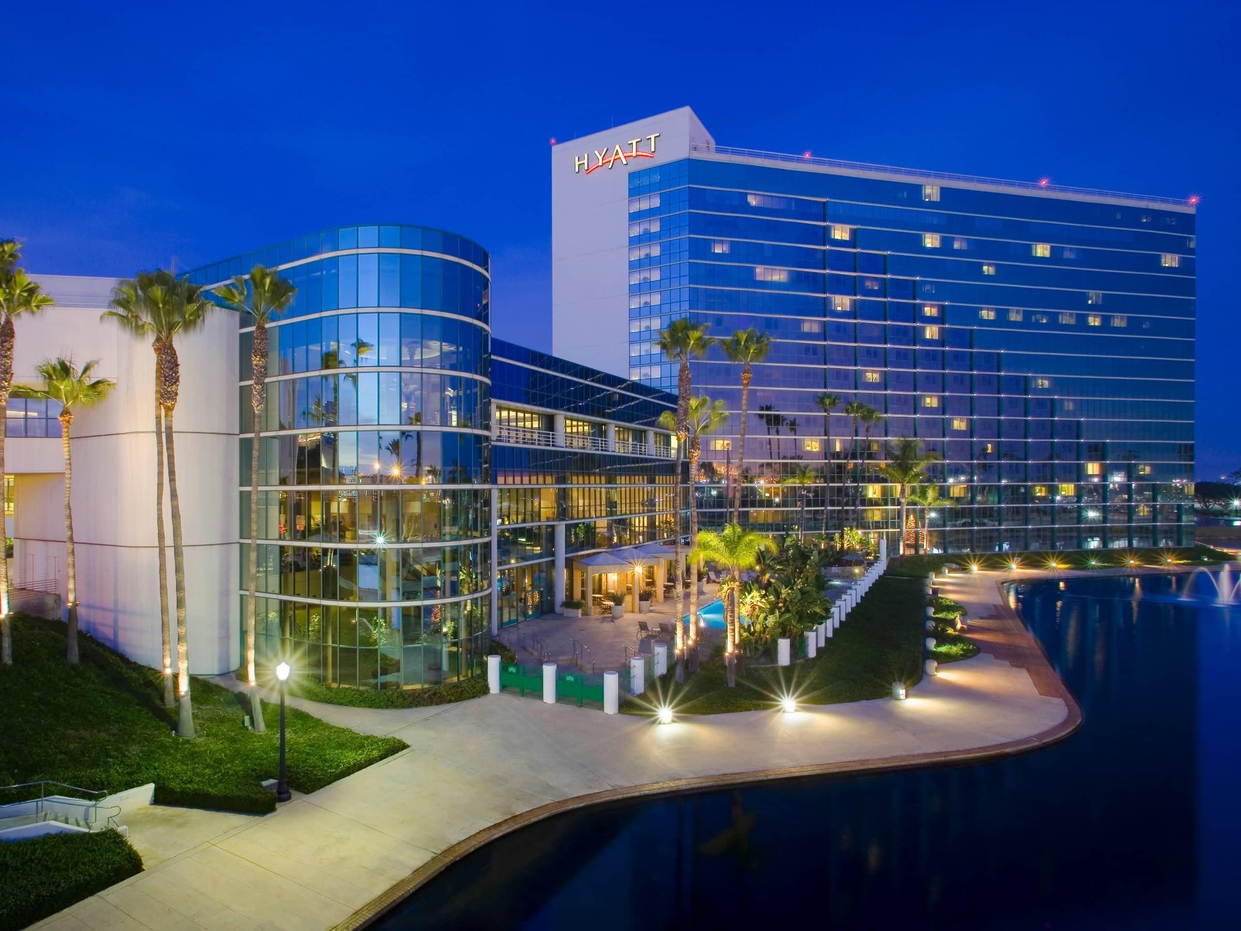 Waterfront Hotel Near Long Beach Convention Center Hyatt Regency