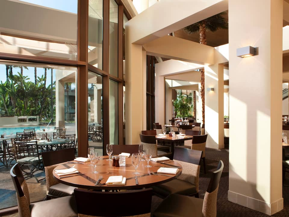 Tides restaurant Hyatt Regency Long Beach