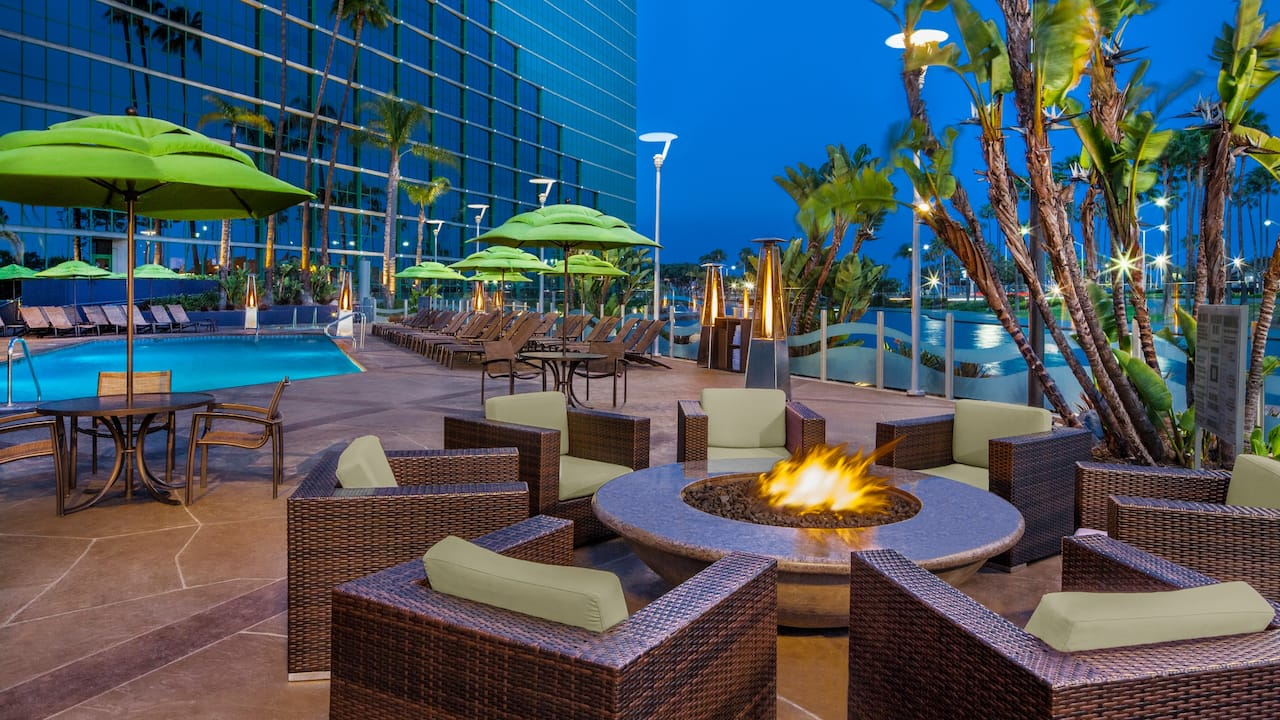 Outdoor Pool Hyatt Regency Long Beach