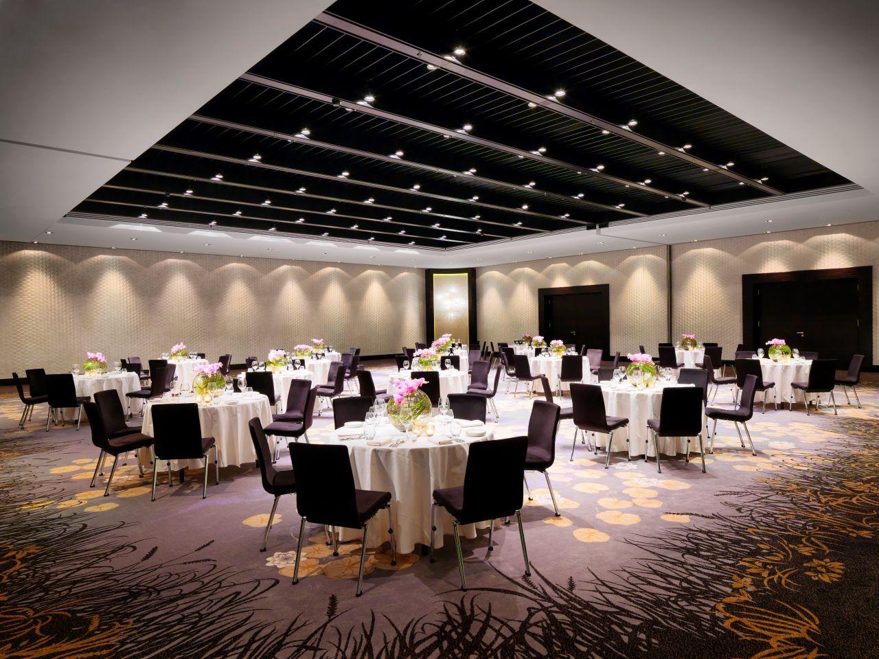 Ballroom banquet space