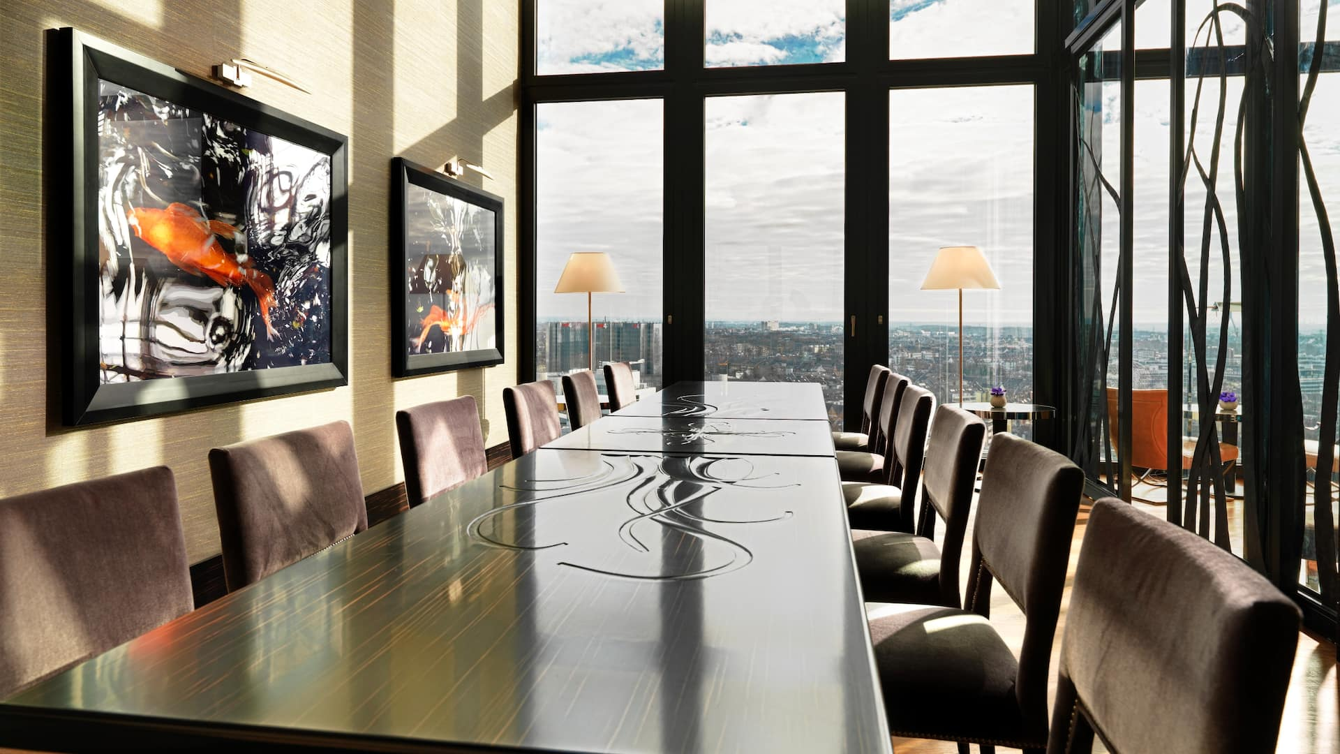 Regency Club Boardroom at Hyatt Regency Dusseldorf