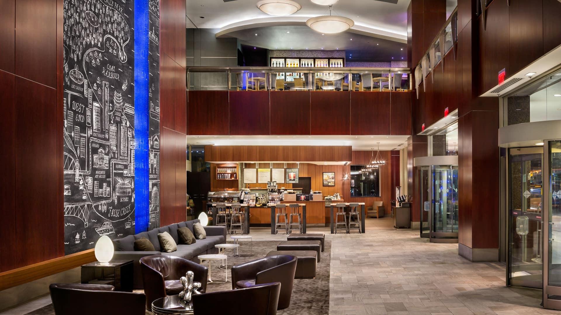 Hyatt Regency Vancouver Lobby
