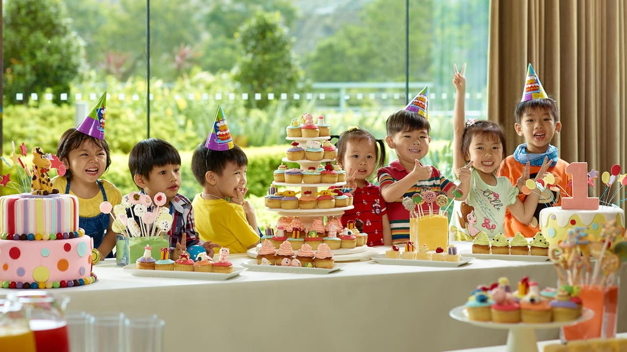Kids Party at Salons