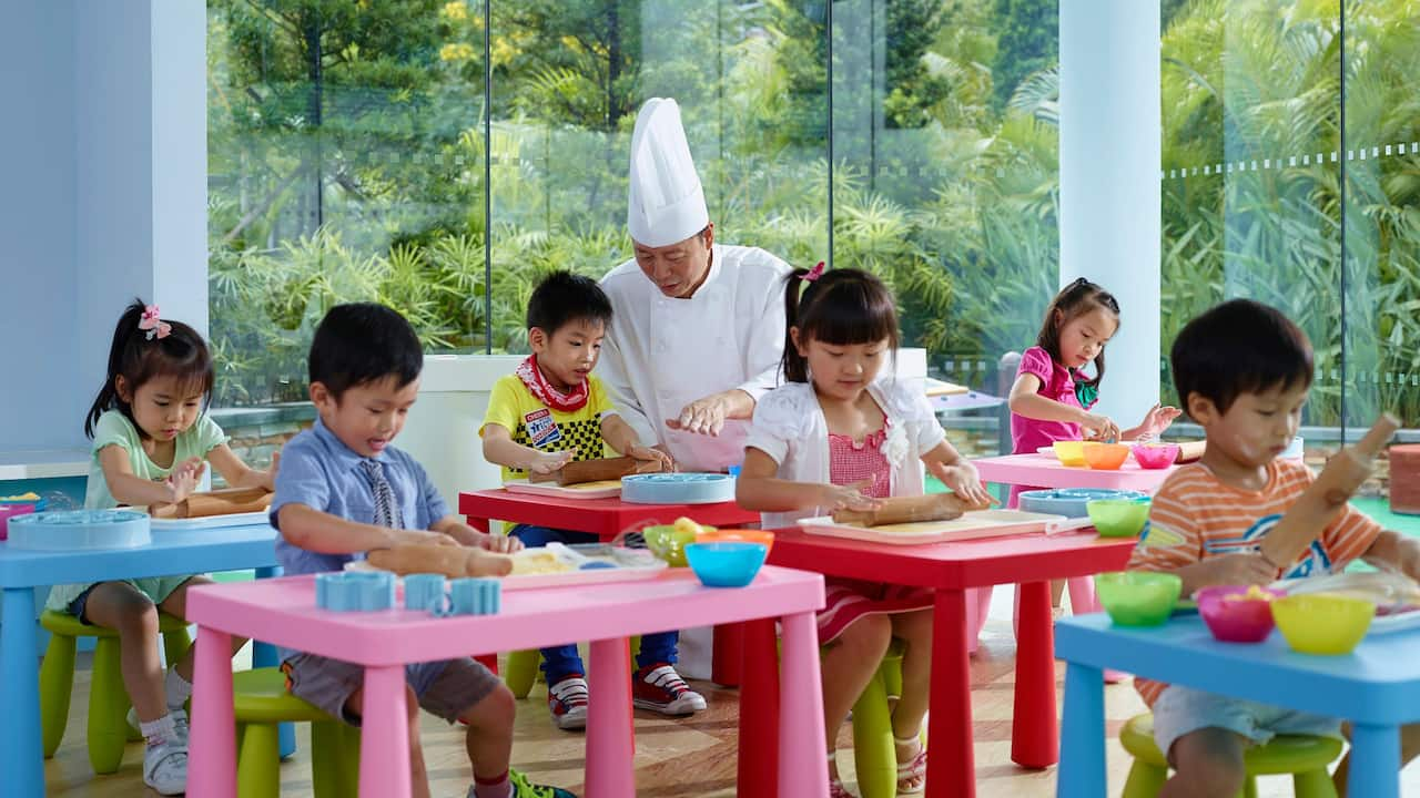 Camp Hyatt Kids Cooking Class