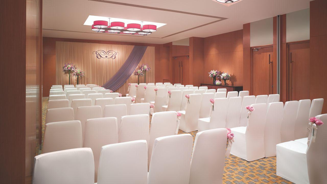Salon II and III Wedding Ceremony